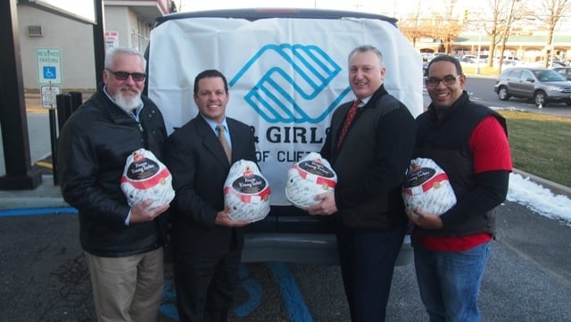 Corradino & Papa, LLC donates 25 Turkeys to the Boys & Girls Club