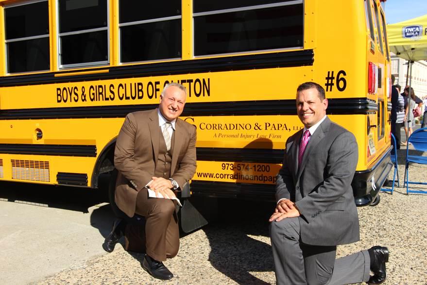 Corradino & Papa Presents $100,000 to Boys & Girls Club of Clifton
