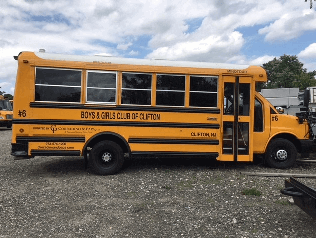 Corradino & Papa, LLC Donate Two New Buses To Boys & Girls Club of Clifton