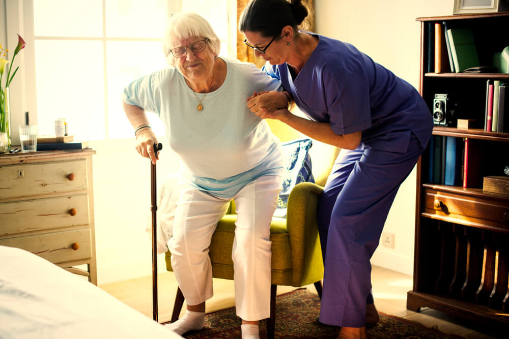 Two Key Contributors to Nursing Home Falls Falls