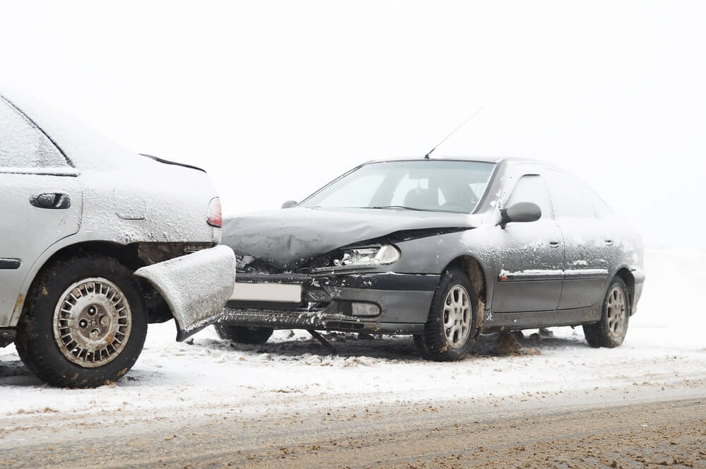 Corradino & Papa Advises Caution in Winter Car Accidents