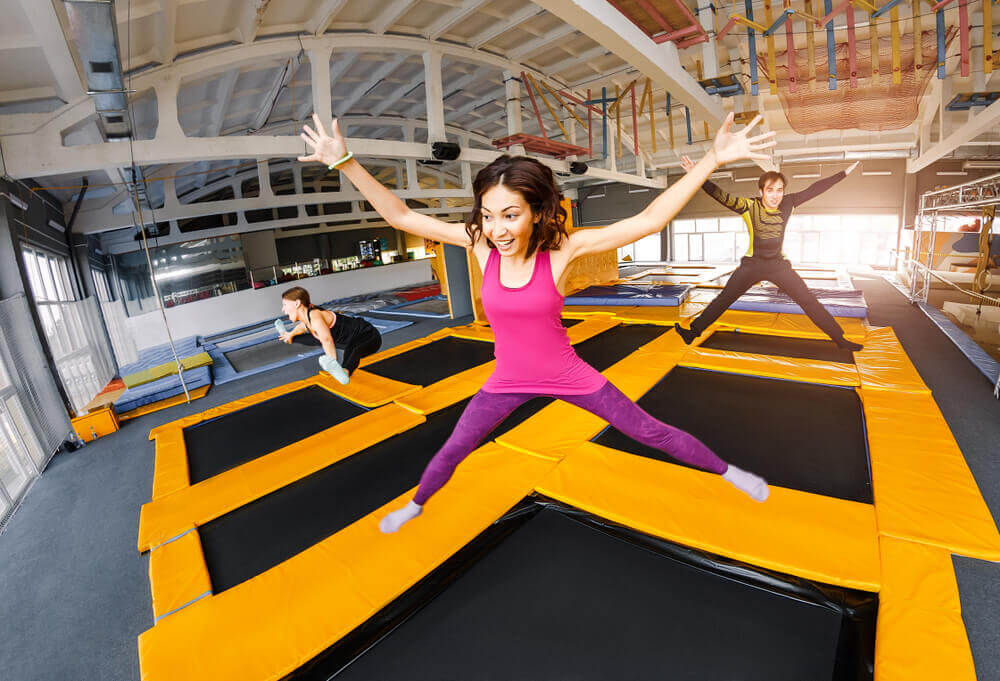Trampoline Park Injuries Increasing by Leaps and Bounds