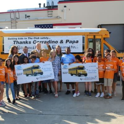 Bus Donation To Boys & Girls Club of Clifton