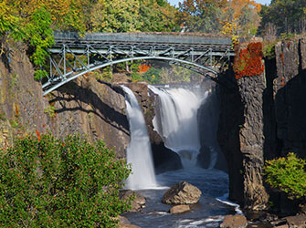 The Great Falls in Passic river, NJ